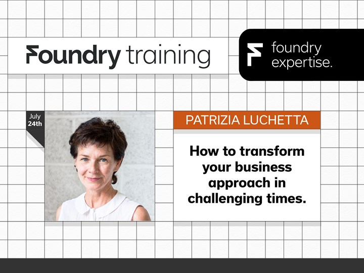 Patrizia Luchetta: How to transform your business approach in challenging times