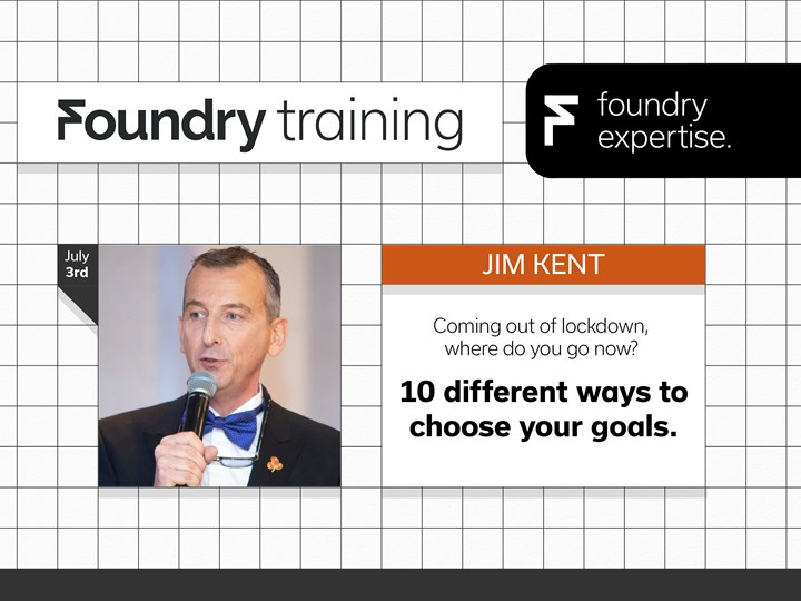 Jim Kent: Coming out of lockdown, where do you go now?  – 10 different ways to choose your goals.